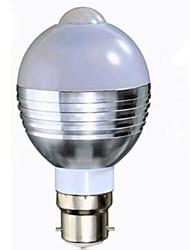 7W Smart LED Glühlampen A60(A19) 16 SMD 5730 650 lm Warmes Weiß Kühles Weiß Menschlicher Körper Sensor V 1 Stück