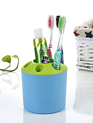 Tooth Style Toothbrush Holder Stand Container Cradle-Random color