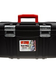 Boîte à outils en plastique jtech je-18 18 matériau pp amélioré / 1