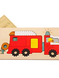 Quebra-cabeças Quebra-Cabeças 3D Blocos de construção Brinquedos Faça Você Mesmo Animais Madeira Modelo e Blocos de Construção