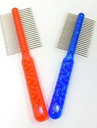 Crystal Pet Cat Dog Comb Beauty Brush Dog Supplies Pet Needle Comb Pet Products