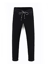 Men's Mid Rise strenchy Loose Active Pants,Active Loose Solid