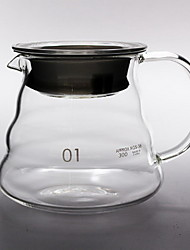 Handflush Drip Filter Can Be Heated To Share The Glass Coffee Pot