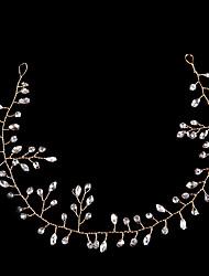 Luxury Hair Jewelry For Women Delicate Crystal Rhinestone Headbands Handmade Bride Tiaras Romantic Wedding Hair Accessories
