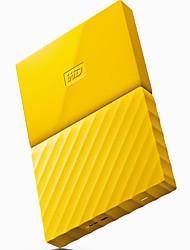 Wd wdbynn0010byl-cesn 1tb disco rígido externo amarelo 2,5 polegadas usb3.0