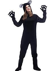 Costumes de Cosplay Costume de Soirée Animal Fête / Célébration Déguisement d'Halloween Couleur unie Collant/CombinaisonHalloween Noël