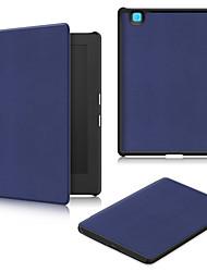 Cubierta de la caja de la PU para kobo h2o edición 2 6.8 con el protector de la pantalla