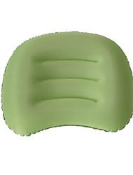1pç Travesseiro de Viagem Travesseiros de Acampamento paraCafé Verde Azul