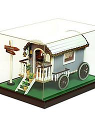 Kit fai-da-te Modellino e gioco di costruzione Legno Unisex