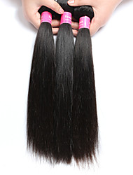 3 bundles Brazilian Virgin Remy Hair Straight Human Hair Weave Extensions 300g