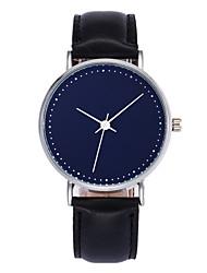 Masculino Mulheres Relógio de Moda Relógio de Pulso Relógio Casual Chinês Quartzo PU Banda Legal Casual Preta Marrom