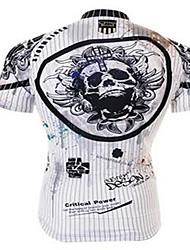 Homme Vélo Vêtements de Compression/Sous maillot Cyclisme Spandex Rayé Cyclisme/Vélo Gris foncé