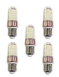 9W Lâmpadas Espiga T 60 SMD 2835 600-680 lm Branco Quente Branco V 5