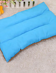 Dog Bed Pet Mats & Pads Solid Keep Warm Soft Elastic Blue Green Rose Orange