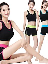 Yoga Cuissard  / Short Shorts Sous-vêtements Débardeur Hauts/Tops Extensible Vêtements de sportFengtu,Yoga Pilates Exercice & Fitness