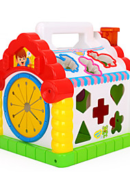 Blocos de Construir Ábaco Jogos de Labirinto & Lógica para presente Blocos de Construir Plásticos 1-3 anos 3-6 anos de idade Brinquedos