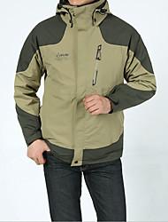 Men's 3-in-1 Jackets Windproof Bottoms for Camping / Hiking Spring Summer Winter Fall/Autumn M L XL XXL XXXL
