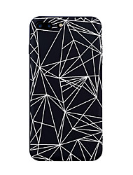 For iPhone 7 Plus 7 Case Cover Pattern Back Cover Case Geometric Pattern Tile Lines / Waves Soft TPU for iPhone 6s Plus 6s 6Plus 6 SE 5 5s