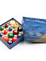 Billiard Balls Pool Case Included Impact Resistant Resin