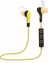 Manos libres deporte inalámbrico bluetooth auriculares estéreo estupendo bajo hifi estéreo auriculares de música de sonido con micrófono