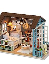 LED Lighting DIY KIT House Model & Building Toy Plastic Paper Wood Resin Children's