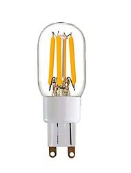 4W Luces LED de Doble Pin T 4 COB 350 lm Blanco Cálido V 1 Persona