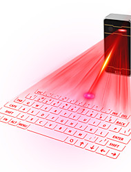 projection laser clavier virtuel pour iPhone, smartphone, ordinateur portable ou tablette