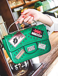 Fashion for women fashion label rivets.company joker portable inclined shoulder bag