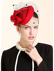 Шерсть Заставка-Свадьба Особые случаи На каждый день Для деловой одежды Шапки 1 шт.