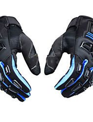 Scoyco MC24 Gloves Motorcycle Full Finger Scooter Protective Rubber Shell Racing Motorbike guantes