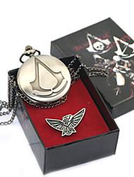 Relógio Mais Acessórios Inspirado por Assassino Connor Anime/Vídeo Games Acessórios para Cosplay Metálico