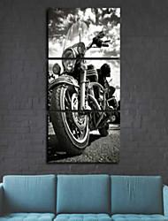 Estampados de Arte Vida Imóvel Moderno,3 Painéis Vertical Impressão artística Decoração de Parede For Decoração para casa