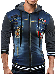 Men's Anniversary Event/Party Sport Casual Sports Formal Outdoor clothing Homecoming Thanksgiving Office & Career ClubPatterned