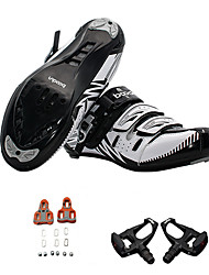 Cycling Shoes With Pedal & Cleat Men's Cycling Sport Outdoor clothing Classic Style PU Washable EVA Rubber Cycling
