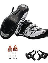 Chaussures de Cyclisme avec Pédale & Fixation Homme Cyclisme Vêtements de Plein Air Style classique Polyuréthane Lavable EVA Caoutchouc
