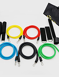 Fengtu® 11 Sets Of Fitness Rally Rope Elastic Rope Resistance Latex Rally Rope Suit Fitness Belt
