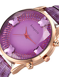 Leisure Style Business Water Resisitant  Leather watch clock butterfly Cool Watches Unique Watches