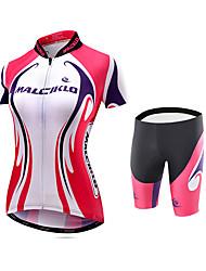 Велокофты и велошорты Велоспорт Велоспорт Колготки Шорты с защитой Джерси + велобрюки Джерси Компрессионная одежда100% полиэстер Эластан