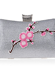 L.WEST Women's fashion all-match hand embroidered dress banquet dinner bag ladies bag