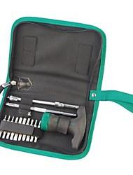 Sata 24 conjuntos de chave de fenda de chaveamento de alça de tipo t / 1 conjunto