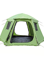 5-8 Pessoas Tenda Duplo Tenda Automática Um Quarto Barraca de acampamento >3000mm Á Prova de Humidade Prova de Água-Campismo Exterior