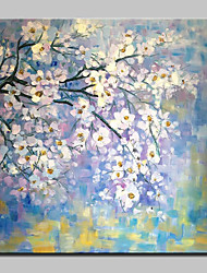 Ручная роспись деревьев цветы маслом на холсте картины современного искусства стены для домашнего украшения готовы повесить