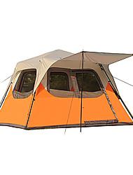 5-8 Pessoas Tenda Duplo Tenda Automática Um Quarto Barraca de acampamento 2000-3000 mm Á Prova de Humidade Prova de Água-Campismo