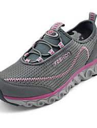Women's Mesh Sneakers Casual Fabric Spring Summer Casual Casual Flat Heel Fuchsia Gray Flat