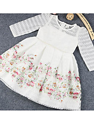 Girl's Floral Dress Sleeveless