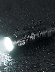 Nitecore MT10C LED Flashlights/Torch LED 920 Lumens 7 Mode Cree XM-L2 U2 Mini Rechargeable Waterproof Compact Size Clip Tactical