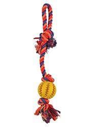 Hundespielzeug Haustierspielsachen Kau-Spielzeug Seil