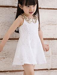 Lace Children's Princess Dress Children's Wear Clothes Summer 2017 Girls' Baby Sleeveless Vest Dress Skirt Gift