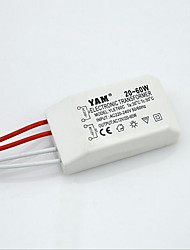Transformador eletrônico de lâmpada de cristal 20-60w