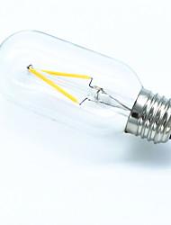 T45 3w 300-350lm e27 led filamento leggero caldo / freddo bianco edison lampada retro vinlage tubolare luce ac220-240v